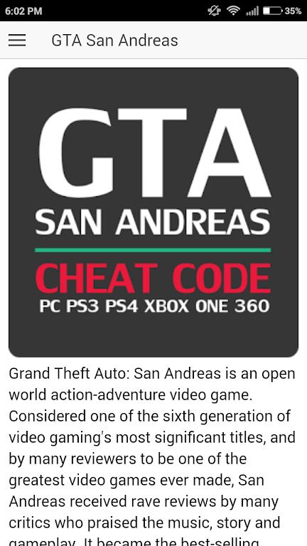 Gta san andreas cheats xbox 1