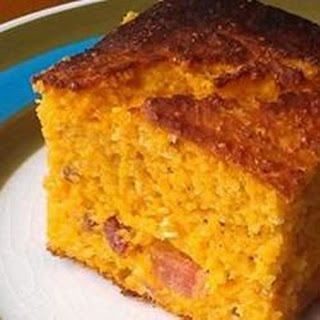 Bacon Sweet Potato Cornbread
