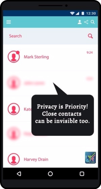 LYK - An Online Social Network with Privacy- screenshot