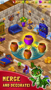 Merlin and Merge Mansion Mod Apk (Unlimited Money) 1