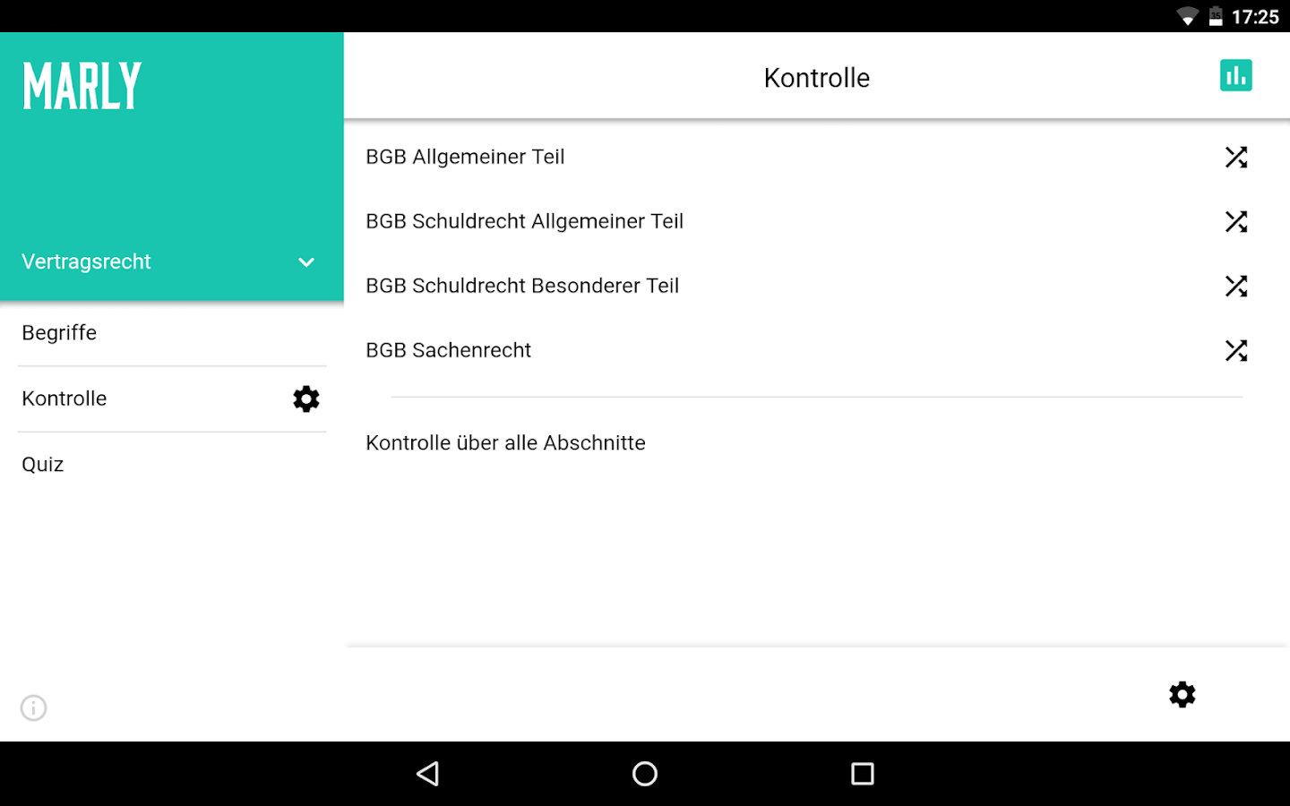 MarlyApp – Screenshot