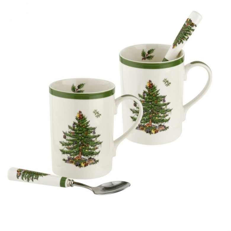Christmas Tree Mugg & Skedset 2-pack 0.35L