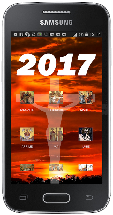 Calendar Ortodox 2017- screenshot