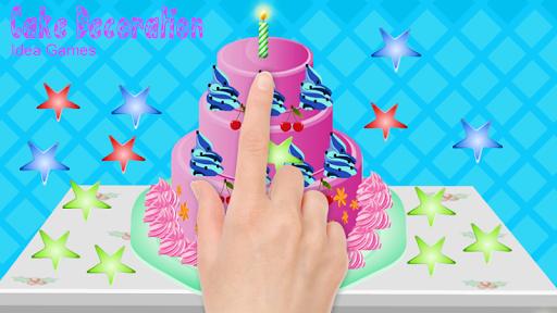 게임 - 케이크 장식