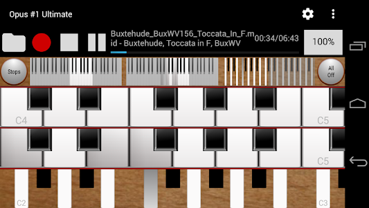 Opus #1 Ultimate-Organ Console screenshot 0