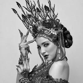 black & white by Jaka Supardi - Black & White Portraits & People