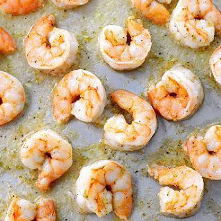 Easy Ginger Lime Roasted Shrimp
