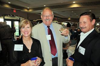 Photo: Debby Collins, Jim Collins, Glen Barthalomew (sp?)