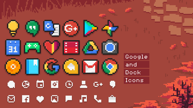 PixBit – Icon Pack v1.7