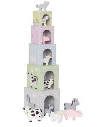 IN STOCK 2021-Stacking cubes animal