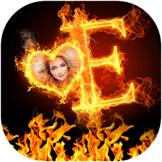 Fire Text Photo Editor