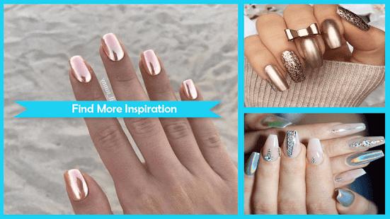 Beauty Chrome Nail Art Ideas - náhled
