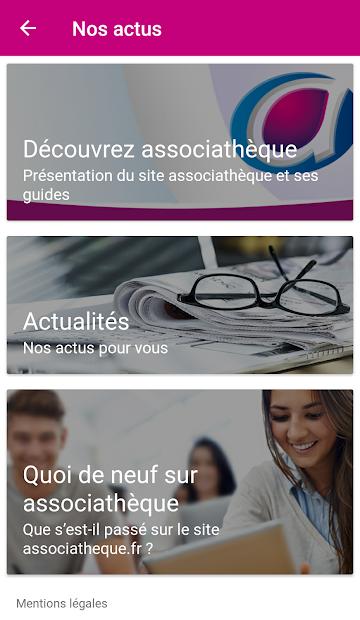 associathèque Android App Screenshot