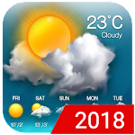 Weather updates&temperature report Icon