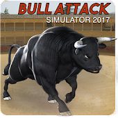 Wild Bull Fight Simulator 3D - Angry Bull Attack