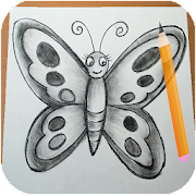 How to Draw Butterfly New 2019