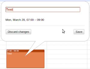 Google Calendar Titel Bearbeiten