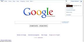 Google Linkbar auf Deutsch