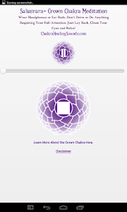 Crown Chakra Sound Meditation screenshot 2