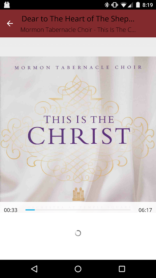 Mormon Tabernacle Choir- screenshot