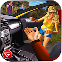 Crazy Taxi Car Driving Game: City Cab Sim 2018 icon