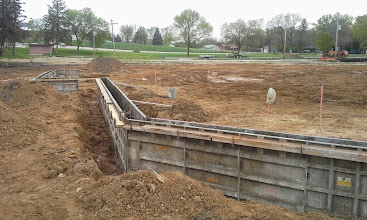 Photo: Backstop with 3rd Base Dugout in Background 05-19-2014