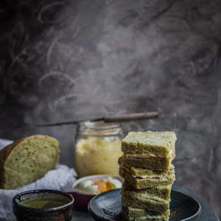 Southeast Asian classic kaya butter toast.