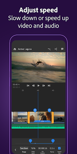 Adobe Premiere Rush u2014 Video Editor 1.5.0.3241 screenshots 3