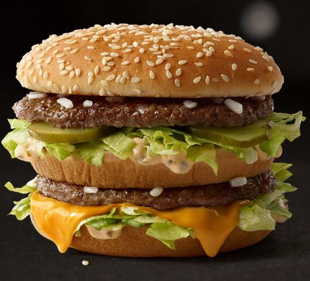 A Big Mac. Image: MCDONALDS