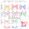Cute Colorful Ribbons Theme icon