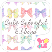 Cute Colorful Ribbons [+]HOME
