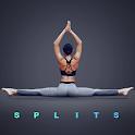 Splits. Flexibility Training. Stretching Exercises icon