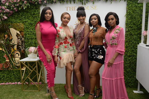 IN PICTURES | Celebs sparkle at Bonang's bubbly launch
