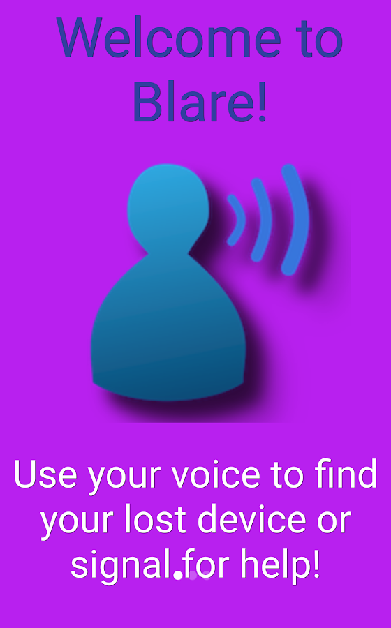 Blare—Find Lost Phone w/ Voice- screenshot