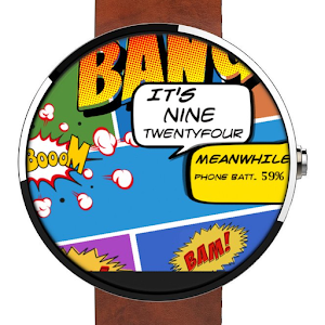 WATCH FACE- COMIC TIMES.apk 1.0