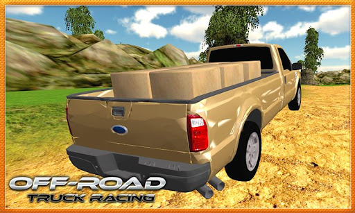 Offroad Cargo Truck Driver