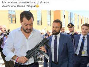 Salvini la pacepasquale colmitra