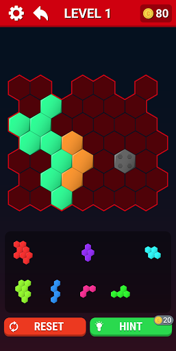 Block Puzzle Tangram : Hexagon, Triangle, Square 5.5 screenshots 2