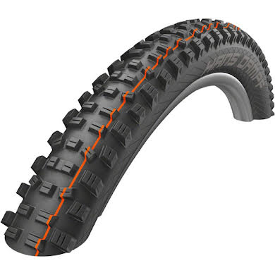 "Schwalbe Hans Dampf Tire: 29 x 2.35"" Addix Soft Compound, Super Gravity, Tubeless Easy"