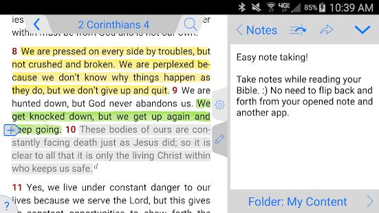 Living Bible - náhled