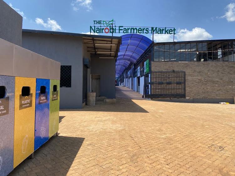 Nairobi Farmers Market, located along Kiambu Road.