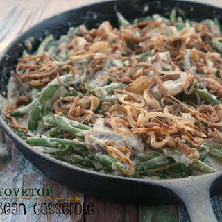 Stovetop Green Bean Casserole