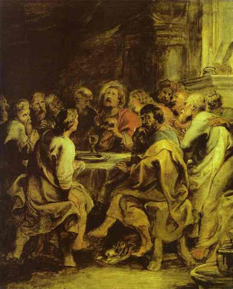 The Last Supper, by Peter Paul Rubens