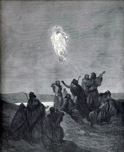 The Ascension of Christ into Heaven