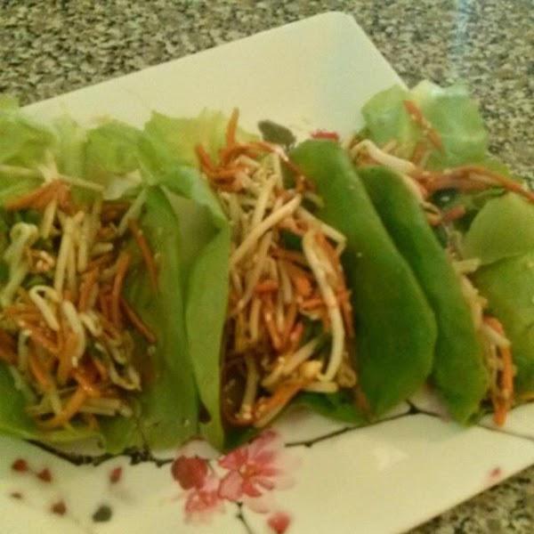 Veggie Lettuce Tacos Recipe