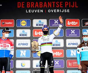 podium Brabantse Pijl Van der Poel Alaphilippe Cosnefroy