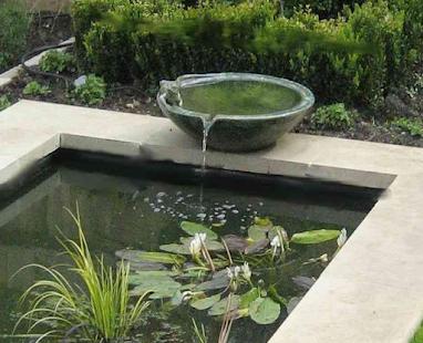 Zahradní vody představuje design nápady - náhled