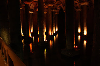 Photo: Day 114 - The Pillars in The  Basilica Cistern #1