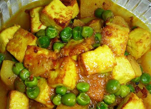 Matar Paneer (cottage Cheese With Green Peas) Recipe