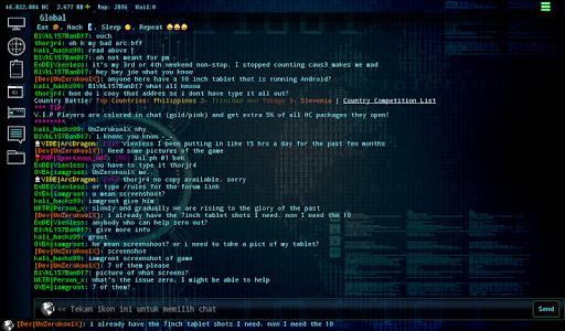 Hackers Online (MMO Simulator) 0.3.6.2 screenshots 9